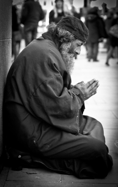 The Praying Man