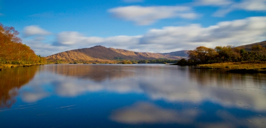 This photo taken in Tousist, Co. Kerry on a calm summers day, is located just in front of The Lake House Bar
